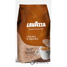 Lavazza Crema E Aroma, 1кг, пачка, зерно