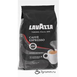 Lavazza Espresso, 1000г, пачка, зерно
