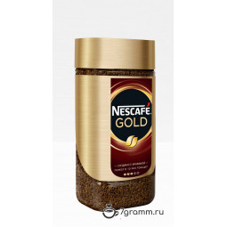 Nescafe Gold 190г, банка, растворимый