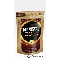 Nescafe Gold 250г, пакет, растворимый