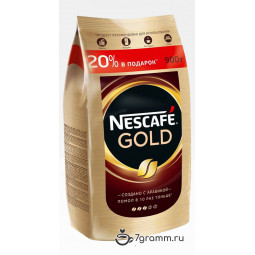 Nescafe Gold 900г пакет, растворимый